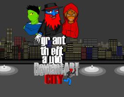 GTA DA CITY by Demon-Red