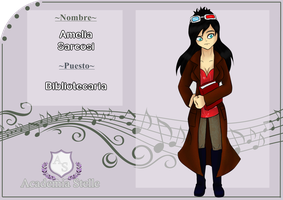 AS: Amelia Sarcosi by Masters92