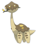 Gigaraffe, Treebrowser Fakemon by Smiley-Fakemon