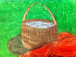 Basket For Grandmother's by KIA-13-7