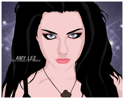 Amy Lee Vector by tayamour
