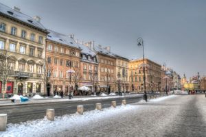 White Christmas in Warsaw by FinnianTerra