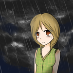 Crying in the rain by mira00000