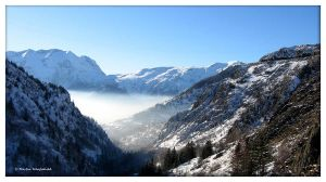 French Alps V by Haufschild