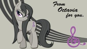 Wallpaper Octavia is sexy by Barrfind