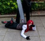 Grell and Sebastian - Behave Yourself, Grell by BritishBumpkins