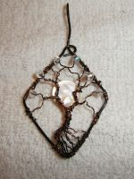 Tree of life pendant with mother of pearl moon by ksuecsr