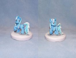 MLP FiM custom blindbag: Trixie with wet mane! by vulpinedesigns