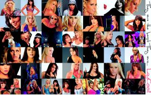 Wallpaper about LayCool by DivasChampionship