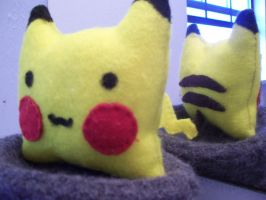 Pikachu PLUSH by Jam-Star
