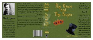 Book Sleeve for 'The Prince and The Pauper' by SIDNEYG