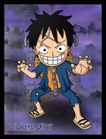 Luffy - Halloween 2011 by SergiART