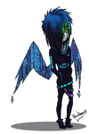 some Pixel Wings by ThomaePen
