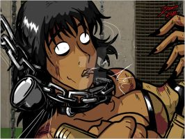 Tanya vs Mileena panel 2 by TheInsaneDarkOne