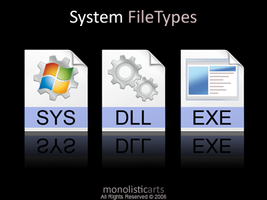 System FileTypes by monolistic