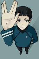 live long and prosper by MachoMachi