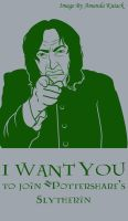 Snape wants you to join PS by LadyNyaruInfinity