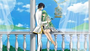 Lelouch and C.C by ulquiorras-bride