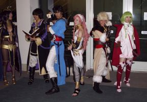 AX 13-12 - Cosplay Group by shadesmaclean