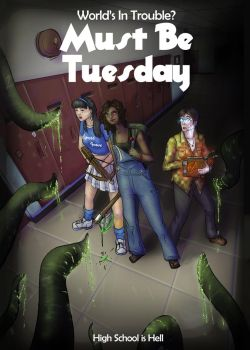 Must be Tuesday Cover Art v.2 by open-sketchbook