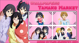 Pack Wallpapers Tamako Market by AnneChan34