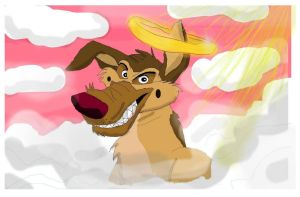 Charlie - All Dogs Go to Heaven - for Luise01 by CrystalMarineGallery