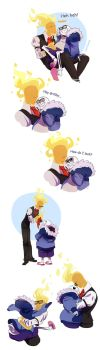Sansby doodles 1 by YAMsgarden
