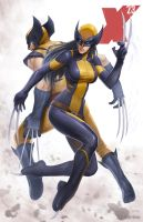 X-23 - Wolverine (4 of 4) by SamDelaTorre