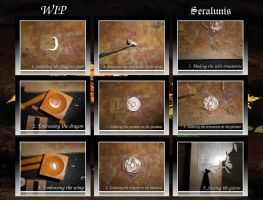 WIP Jewelry making 4 by seralune