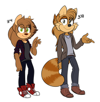 Height Difference Ref by snugglejpg