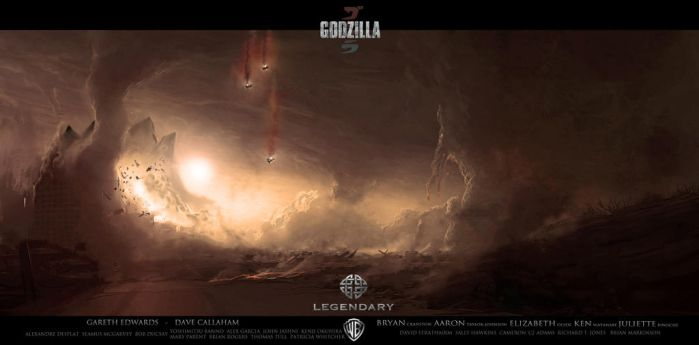 Godzilla Fan Art by Eagle661