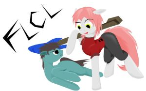 MLP FLCL by ZeroDevil