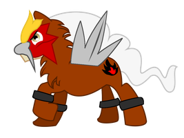 My Little Entei by BellalyseWinchester