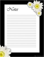 Daisy-May Stationary by MadameM