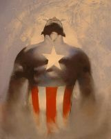 Captain America Rises by sneedd