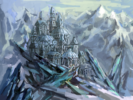 Ice Castle by WorldPowers