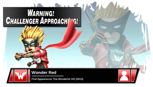 SSB4 Banner: Wonder Red by Pixiy