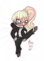 Born This Way Chibi 5 by GAGAISMYSOUL