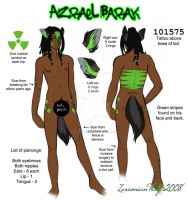 Nekkid Azrael Ref by LadyZolstice