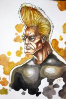 Johnny Bravo by TheAngryMammoth