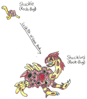 Fakemon - Shuckle Evo by UltimateRidley