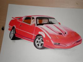 1992 Pontiac Firebird by PunkIn-Kitty