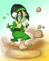Toph - Avatar by hinoraito
