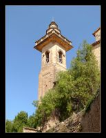Tower Of Sant Bartomeu Church - Valldemossa by skarzynscy