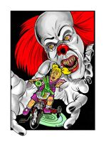 Pennywise by FREAKCASTLE