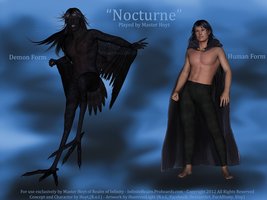 Nocturne Character Sheet by HuntressLight