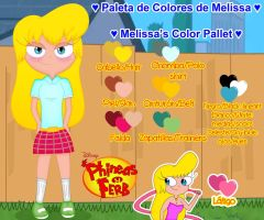 Melissa J. Carlson - Color Pallet by Juli4427