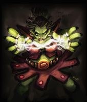 daily hero - orc magestress by shoze