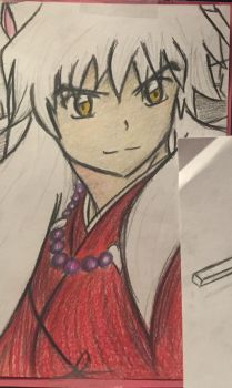 Inuyasha by E-Animelover22