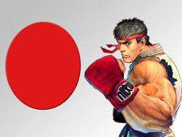 Ryu Wallpaper by BadWolf42